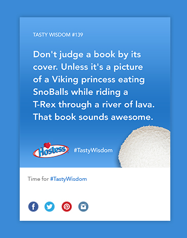 Hostess Social Media